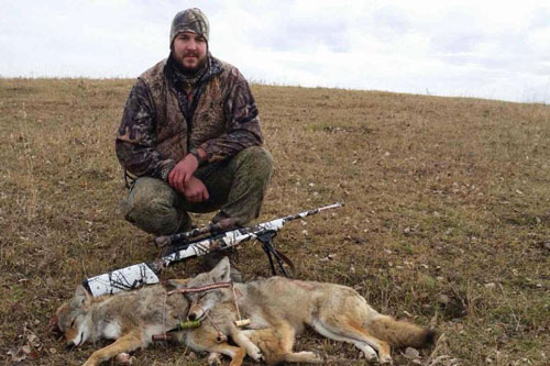 Canadian Predator hunts, including Guided Coyote hunts are offered by Venture North Outfitting