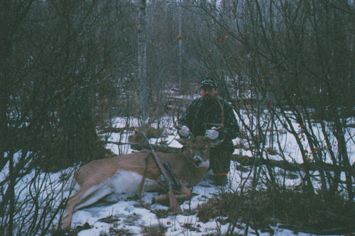 Alberta Whitetail Deer hunting with Venture North Outfitting